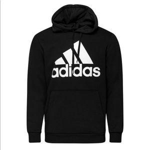 🔥SALE Adidas black chunky sweater with hood